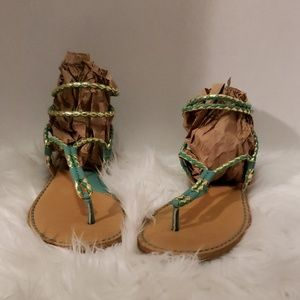 Shoes - Gently used Sandals. Brand name Born